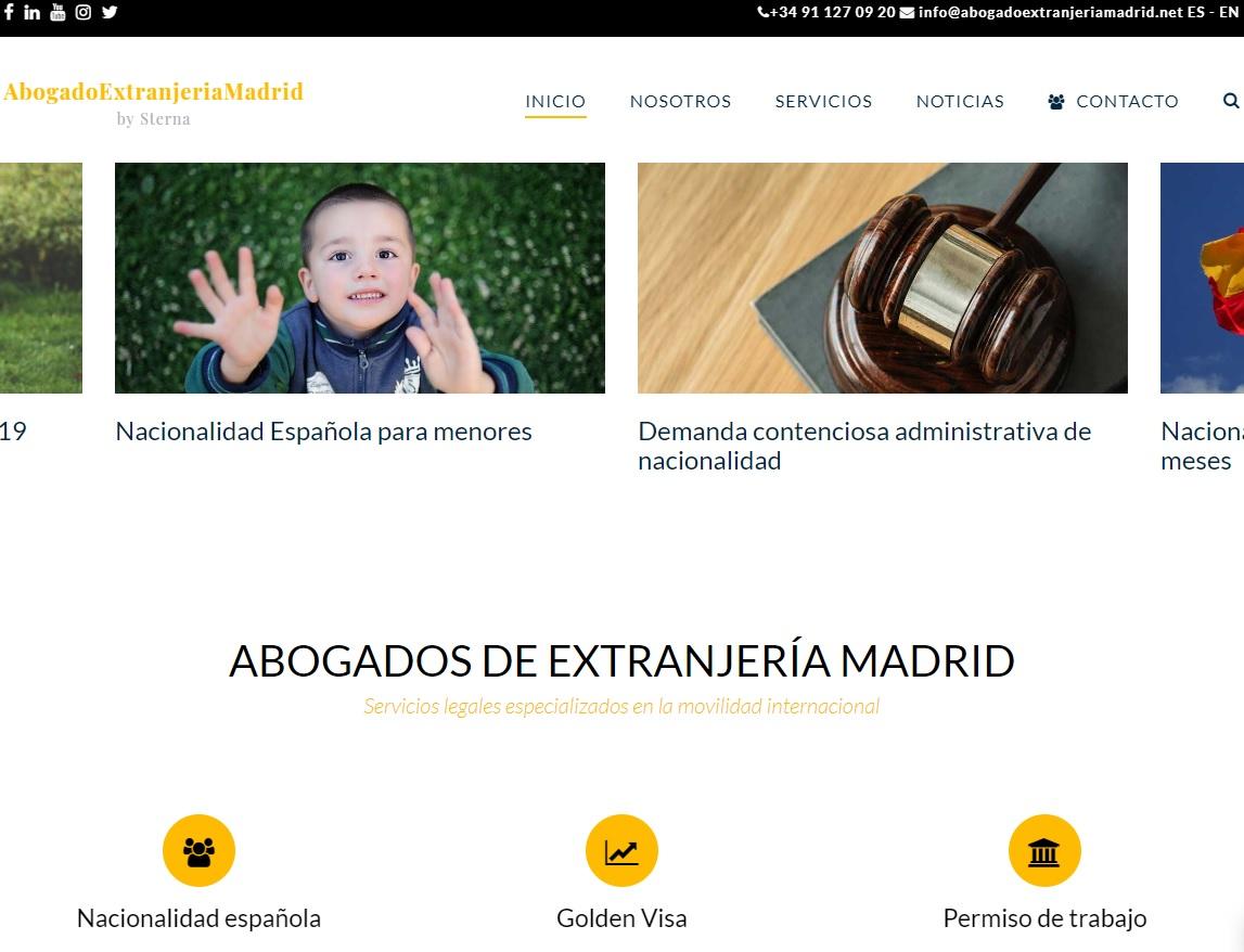 web Abogado Extranjeria Madrid
