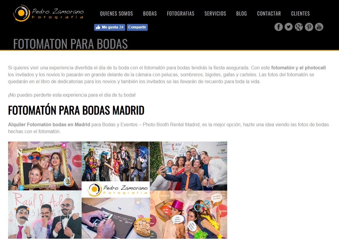 web Pedro Zamorano