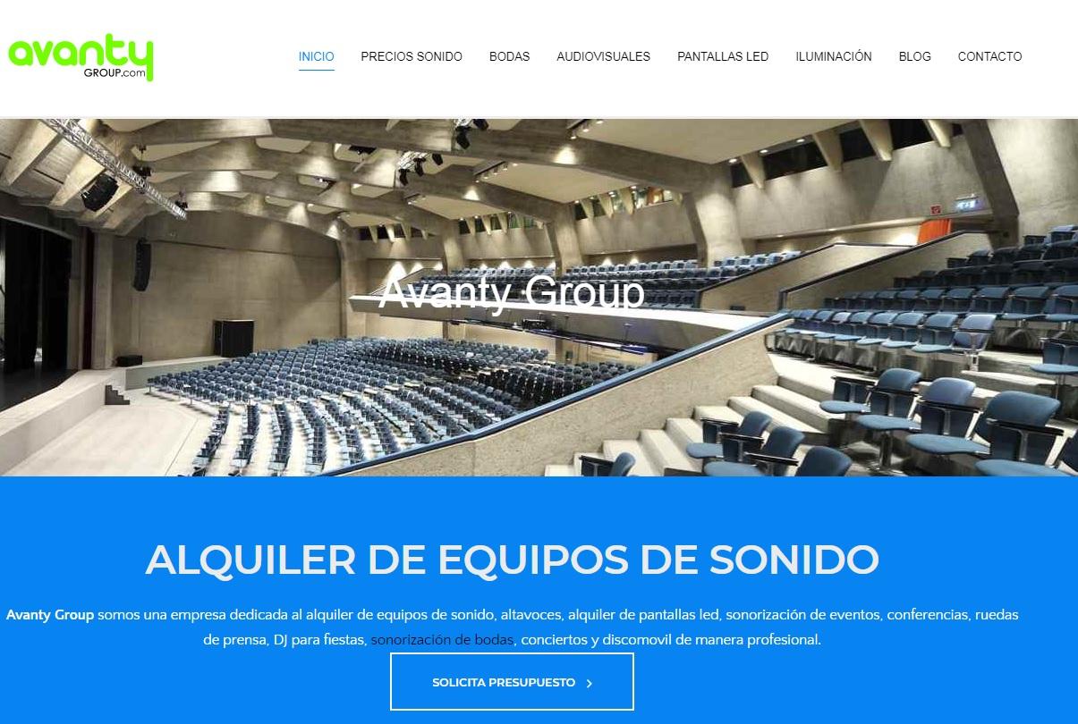 web avanty group